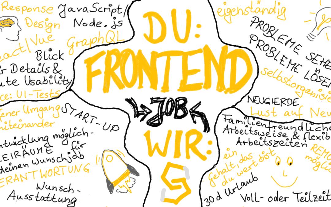 Frontend-Entwickler*in gesucht!